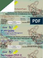 Leaflet CPDP 2018 Edit Terbaru Hotel Haris Vertu Ada Norek
