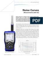 NTi Audio AppNote XL2 Noise Curves