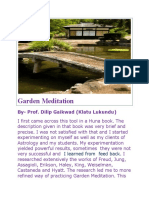 Huna Magick-Garden Meditation by Prof. Dilip Gaikwad