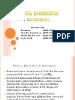 Kimia Kosmetik Resorsinol