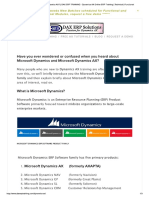 What is Microsoft Dynamics