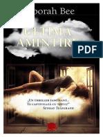 Deborah Bee - Ultima Amintire (v.1.0)