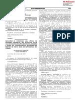 Aprueban la ordenanza que otorga la Amnistía Tributaria y No Tributaria en el caso de deudas de años anteriores dirigida a todos los contribuyentes deudores del Distrito de Cerro Azul de la Provincia de Cañete