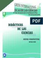 Libro sobre Didáctica de las Ciencias