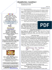 Columbiettes - April 2018 Newsletter