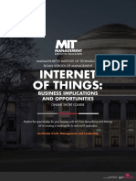 MIT Internet of Things Online Short Program Brochure