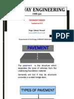 Lecture 6a Pavement Design