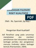 Landasan Filosofi Kualitatif-2017 Ok