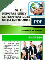La Empresa y El Medio Ambiente
