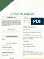 Drenaje de abscesos