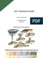 GEOLOGIA+I+Lecture13_Volcanismo+Ecuador
