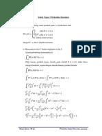 Problem and Solution Mekanika Kuantum