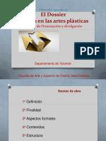 Dossier artes plsticas