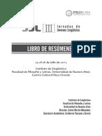 Libro de Resumenes IIIJJL2017