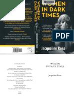 Jacqueline Rose-Women in Dark Times-Bloomsbury (2014)