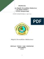 Proposal KPU + sidang