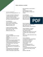 Letra de la canción Madura