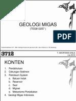 Geologi Migas (2016-2017)
