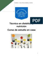 Curso de Dietética Módulo 1