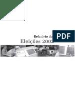 Relatório Eleitoral de 2002, TSE