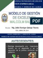 GE Sesión 1 Malcolm Baldrige UNTELS