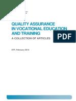 Quality Assurance in VET