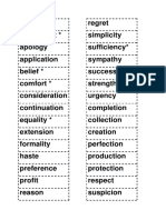Word Formation Game Cards