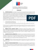 Nueva Ley de Migracion chilena
