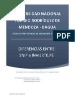 Diferencias Entre Snip e Invierte