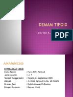 Preseptoran Demam Tifoid Dr. Elly