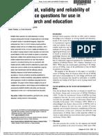 considine-design format validity-2005.pdf