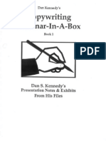 Dan Kennedy - Copywriting Seminar-In-A-Box - Book 1