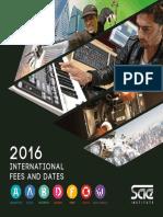 International Fees 2015 Vers 03.15 KM