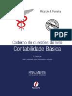 Contabilidade Básica - Carderno de Questões  13.ª Edição (2015) - Ricardo Ferreira.pdf