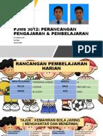 Pjms 3012 Perancangan Pengajaran & Pembelajaran