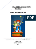 MODULO ESPAÑOL DE 8°- pruebas