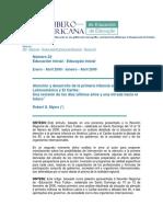 La Revista Iberoamericana de Educación Es Una Publicación Monográfica Cuatrimestral Editada Por La Organización de Estados Iberoamericanos