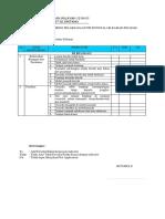 Formulir Monitoring Pelaksanaan Ppi Di Instalasi Kamar Jenazah
