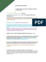 Orientações Curriculares Estaduais Minas Gerais