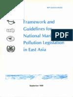 Framework and Guidelines for National Marine Pollution Legislation in East Asia