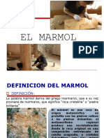 4.1- Cuarta Unidad MC 2018 - Marmol