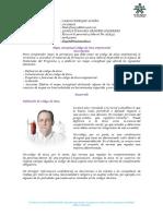 Mapa Conceptual y Código de Ética Empresarial