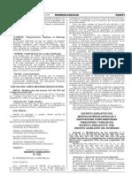 Decreto Legislativo Que Modifica Diversos Articulos y Dispos Decreto Legislativo n 1232 1292707 2
