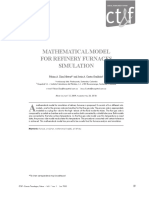 Pp. Mathematical Model for Refinery Furnaces