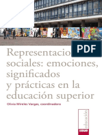 Representaciones sociales. Emociones, significados y practicas en la educacion superior.pdf
