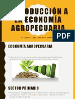 Introducción a La Economía Agropecuaria