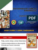 Charla Breve Historia Del Comic en Bquilla