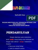 Terapi Oksigen (SG)