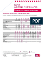 Ligne Clermont - Thiers - Saint-Etienne
