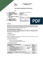 Silabo de Albañileria Estructural 2012 II